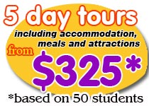 5 day school tour Brisbane Explorer